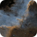 Cygnus Wall - Part of NGC 7000 / Caldwell 20 (SHO),                                Falk Schiel