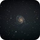 Messier 101-Pinwheel-Galaxie,                                Danny