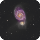 The Whirlpool  Galaxy  M51 NGC5194,                                Aaron