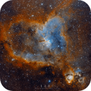 IC 1805 Heart nebula,                                Yuzhe Xiao