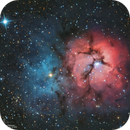 Another Trifid - Messier 20,                                  John Michael Bell...