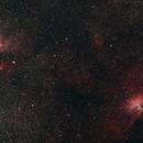 Omega and Eagle Nebula,                                JuanmaRivero