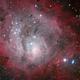 Messier 8,                                Ben S Klerk