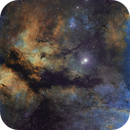 The Butterfly Nebula (IC 1318) - Hubble Palette,                                Eric Coles (coles44)