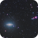 The Sombrero Galaxy,                    Andre van Zegveld