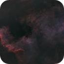 Less is more processing - North America Nebula,                                  Marlon
