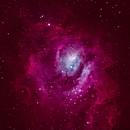 M8 Lagoon Nebula,                                Sodonaut