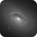 M64 - Test with old home made scope,                                Romain Chauvet