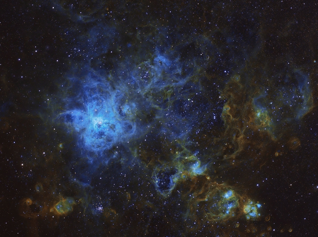 Tarantulla Nebula (NGC 2070),                                Paweł Koczan