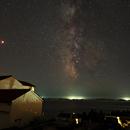 Milky way over Kornati islands,                    Miroslav Horvat
