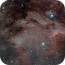 The Pelican Nebula and Stars 56Cyg and 57Cyg,                                Alan Brunelle