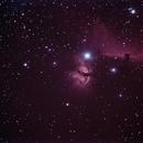 Nebulosa fiamma e testa di cavallo,                                Stefano Minelli