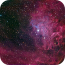 Flaming Star Nebula (IC-405) Test,                                Miles Zhou