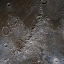Montes Apenninus - Mineral Moon Photograph,                                Evelyn Decker