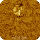 Sunspot AR2713, HA, Colored, June 20th 2018,                    Martin (Marty) Wise