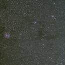 Rosette Nebula and Milky way,                                modusus