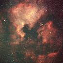 North America and Pelican Nebulae,                                Bob Kinsman