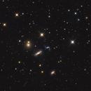 HGC 44, NGC 3190, NGC 3189 - Leo Quartet,                                Leo Shatz