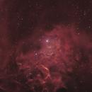 IC 405- The Flaming Star Nebula,                                dsurfingmark