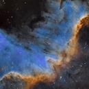 Cygnus Wall - Sii, Ha, Oiii,                                  Bradley Craig