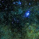 M20 -  Nebulosa Trífida e M8 Nebulosa da Lagoa,                                Augusto