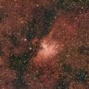 M16 Eagle Nebula and  Surrounding Region,                                ScottBrabec