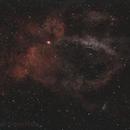 Lobster Claw Nebula - Minimal Processing ,                                Jon Rista