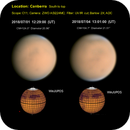 Mars 1st and 4th July compared - is the dust clearing?,                                  LacailleOz