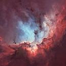 The Wizard nebula - high res details in full resolution,                                Marcel Drechsler