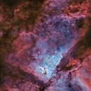 Main Structure of Carina Nebula,                                Zhuoqun Wu