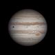 Jupiter GRS and IO,                                chuckp