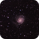 M101 - Pinwheel Galaxy,                                Thierry Hergault