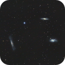Leo Galaxy Triplet M65 M66 NGC3627,                                Kevin Parker