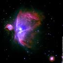 M42: Orion Nebula,                    orangemaze