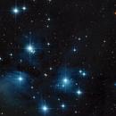 M45 - Pleiades,                                Frank Breslawski
