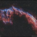 NGC6992 - The Veil Nebula - Bicolor,                                Francesco Battistella