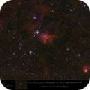 IC 417 and NGC 1931 - The Spider and the Fly in HSO,                                  Uwe Deutermann