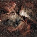 Carina Nebula,                                Thunderguts