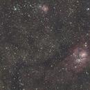 Sea of stars with Triffid and Lagoon nebulas (M8 and M20),                                GregLatiak