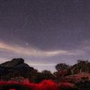Winter sky at Pinnacles National Park (West),                                Nikola Nikolov