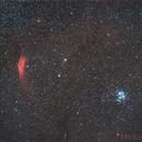 Pleiadi e Nebulosa California ,                                Maurizio Fortini