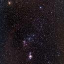 Orion Constellation - EOS 6Da wide field,                                Emanuel