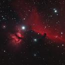 The Horsehead Nebula and The Flame Nebula NGC 2024,                                JWOHLFEIL
