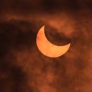 Partial Solar Eclipse 2014,                                Keith Hanssen