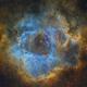 Rosette Nebula - SHO,                                Janco