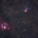 M8/M20 Lagoon & Triffid Nebulae,                                laser_jock99