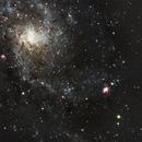 M33 - Triangulum Galaxy,                                Mark Spruce