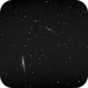 ngc4631 and 4656 - 3 nights of unguided frames with a TS65 Flat ad an unmodded Nikon d5300,                                Stefano Ciapetti