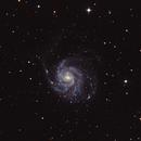 M101 - Pinwheel Galaxy - Galassia Girandola,                                Ugo Ravasio