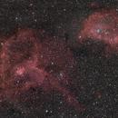 IC1805 & IC1848,                                Nabucco